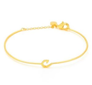 Gorjana Initial Bracelet | Pretty All Around Blog Gift Guide