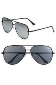 Quay Australia Black Aviators | Pretty All Around Blog Gift Guide